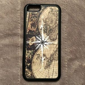 iPhone 6 World Map Phone Case